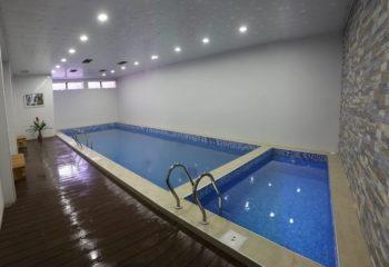 Большой плавательный бассейн, женское отделение, 1 этаж, Баня С легким паром!