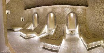 Турецкий Хаммам, мужское отделение, кабина с лежанками, 2 этаж, Баня С легким паром
