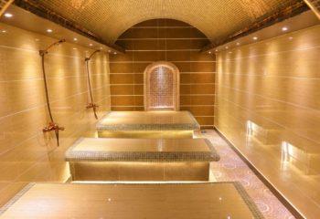 Турецкий Хаммам, женское отделение, 2 этаж, кабина для пилинга и пенного массажа, Баня С легким паром!