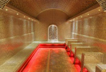 Турецкий Хаммам, женское отделение, 2 этаж, красная кабина, Баня С легким паром!