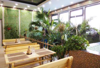 Зеленый уголок, мужское отделение, 1 этаж, Баня С легким паром