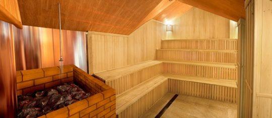 Финская парная, Мужской банный VIP - клуб, 4 этаж, Баня С легким паром!