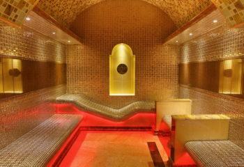 Кабина Турецкого Хаммама, Мужской банный VIP-клуб, 4 этаж, Баня С легким паром!