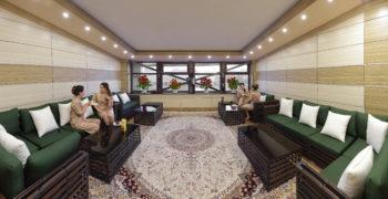 Комната отдыха и ожидания, Женский банный VIP-клуб при SPA-комплексе С легким паром!