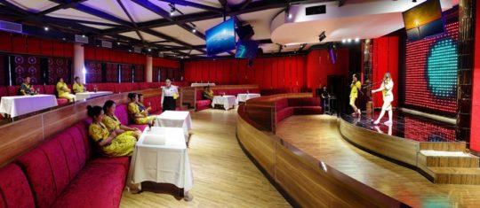 Концертный зал-караоке, общая зона отдыха, 5 этаж, Баня С легким паром!