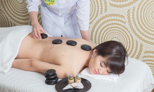 Стоун массаж, Центр красоты и здоровья, 6 этаж, Баня С легким паром!