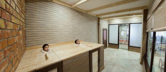 Тибетская баня, Мужской банный VIP-клуб, 4 этаж, Баня С легким паром!